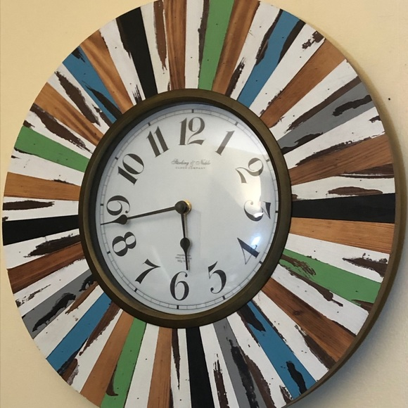 Sterling and Noble Wall Clock 16 Inch